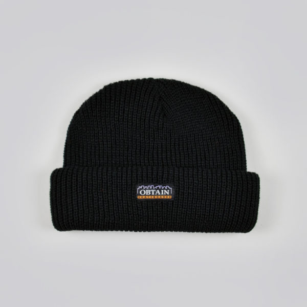 OBTAIN Downtown Beanie. Color: black