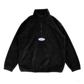 Fleece Ellipse Black Web