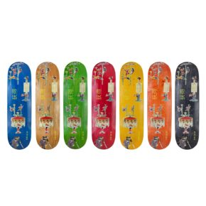 OBTAIN Acrobats Skateboard Decks. All colors. Made in Europe.