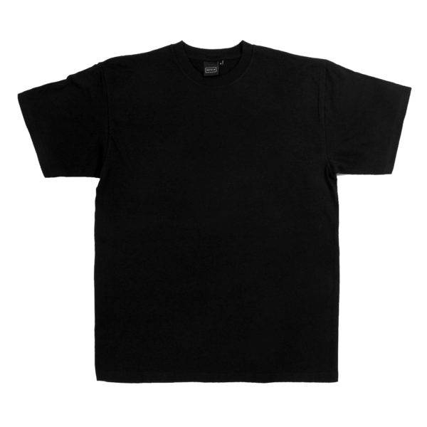OBTAIN Classic O big logo T-Shirt. Color: black. 100% cotton. Handprinted in Germany.