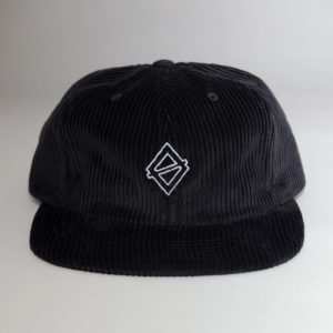 OBTAIN perfect 6 panel cap wide cord black